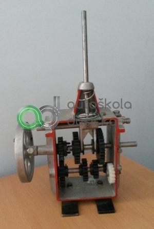 Obrázok 3D modelu prevodovky