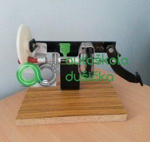Obrázok 3D modelu brzdy