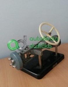 Obrázok 3D modelu konštrukcie riadenia