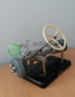 3D model konštrukcie riadenia