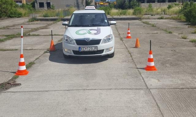 Výcviková plocha Bardejovská -autoškola dušička, Košice