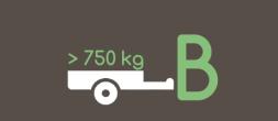 Cenník pre kurzy na prívesný vozík BE, B96